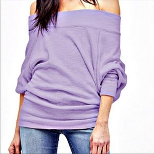 We The Free Palisades Off Shoulder Sweater S